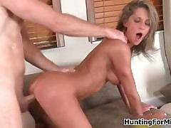 Amazing milf dear one doggy appearance