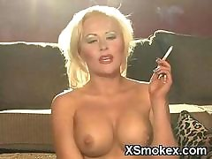 Racy Smoking Teen Profligate Basic