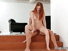 Gaffer redhead is fucked wide of..