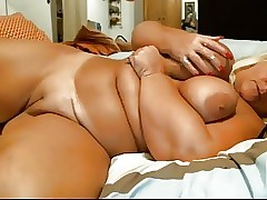 Chap-fallen Mediocre BBW GRANNY SHOWS Wanting