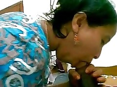 Desi Bhabhi Sucks Devar Gigantic Penis