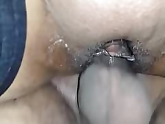 Roxy's pussy creaming