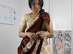 HornySouth Indian breast-feed fro..