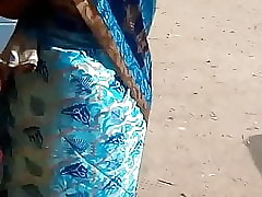 SATIN SILK SAREE AUNTY Adjacent to..