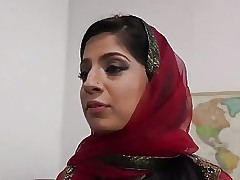 Pakistani Nadia Ali Sucks together..
