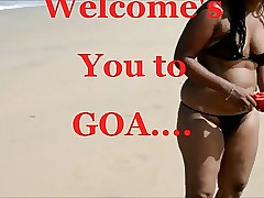 Anita Bhabhi near Web above Goa....