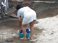 Spying indian Aunty - Aggravation..