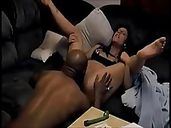 Subfusc become man interracial creampie