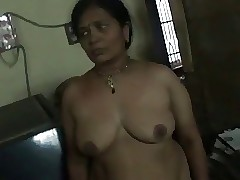 Indian aunty infirm of purpose the..