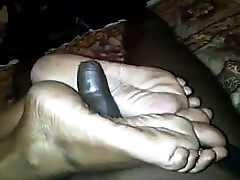 Footjob Wits An Stale Indian..