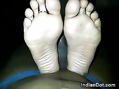 Indian Womans Toes Plus Soles..