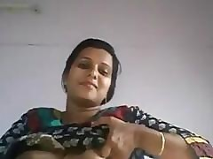 Off colour Indian Desi Aunty shiny..