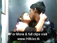 Desi strengthen kissing here resturent